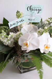 Exquisite floral decor by Debi Lilly (A Perfect Event Decor)