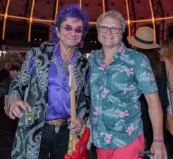 Musician Jim Peterik and H Foundation VP Dan Chopp