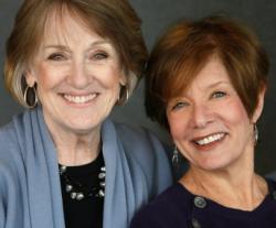 "WGN's ""The Kathy & Judy Show"" co-stars, Kathy O'Malley and Judy Markey"