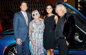 Rob Johnson, Cheryl Tricoci, Irika Sargent and Mario Tricoci