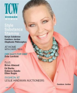 Covergirl and fashion editor for TCW Magazine (I sure miss it!)