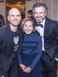 Jonny Imerman (Co-founder of Imerman Angels), Jane Imerman and Jeff Imerman