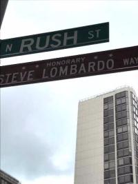 Finally! Steve Lombardo Way!