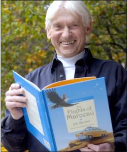 Author/philanthropist/good guy Joe Brown