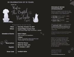 Crystal Paw Gala Oct. 21