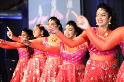 Beautiful Bollywood dancers