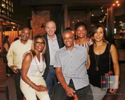 Skip Robinson, Dee Robinson, Carlton Guthrie, Cynthia Guthrie-Johnson and Dawn-Marie Guthrie