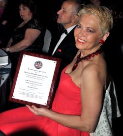 High achieving honoree Dr. Miroslawa Mielczarek-Landowska