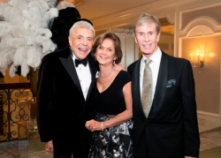 Bandleader Stanley Paul, SC gala honoree Myra Reilly and husband John Reilly