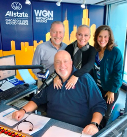 Steve Cochran (seated), Dave Eanet (L), me and Andrea Darlas