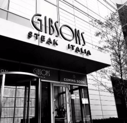 Gibsons Italia opens on October 23.