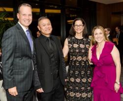 Chris Collins, Chay Yew, Anne Pramaggiore, Erica Daniels