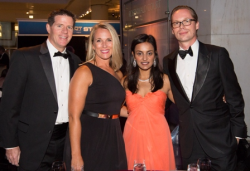 John and Christine Mahoney, Smita Shah and Maarten de Jeu