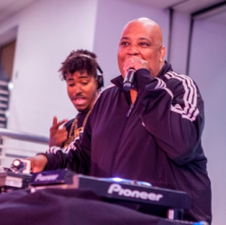 Rev Run and DJ Ruckus