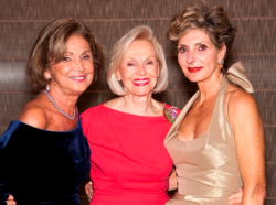 Honoree Myra Reilly, Mamie Walton and Linda Heister