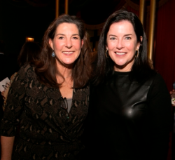 Allyson Pooley, Zoo Ball 2018 Co-Chair & WB Member; Krista Coan, Zoo Ball 2018 Co-Chair/WB Member