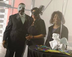 Life was a masquerade at Fox Ford Lincoln party!