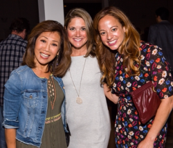 Linda Yu, Terri Hickey and Linda Novick O'Keefe (Common Threads CEO)