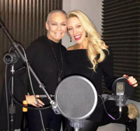 With the glam host of Wine Channel TV, Jess Altieri, for her first Wine Conversations podcast!