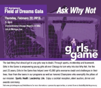 Girls in the Game Gala, February 22