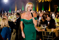 Letitia Frye entertains during the live auction at Gateway to OZ