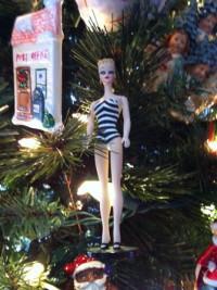 A treasured ornament from my mom.