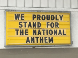 Sign seen in Tennessee.