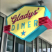 Gladys' Diner serves Elvis' favorite sandwich--peanut butter and bananas fried in bacon fat