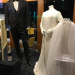 Elvis and Priscilla's wedding attire--they married in 1967 at the Aladdin Hotel in Las Vegas