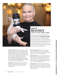 With Rooney Jordan in Chicago Woman Mag!