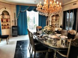 Elvis' dining room at Graceland