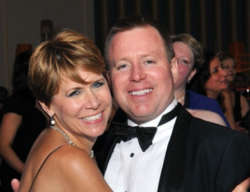 Peninsula's PR guru Susan Ellefson and hubby Bryan Kurtz