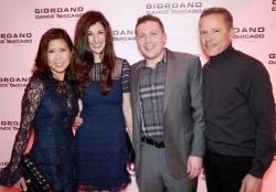 Frances Renk, Kristin and Aaron Bowling and Chris Renk