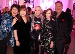 With Maria Pappas, Maureen Schulman, Helen Melchior and Paul Iacono