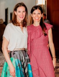 Sarah Rudich and Kristin Klein