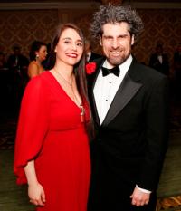 Rachel Lang and Allen Tinkham
