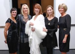 Judy Lyman, Taylor Lindstrom, Melinda, Liz VanHorn and Patti Lyman