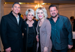 Matt and Melissa Ryan with Amy and Chuck Valenti