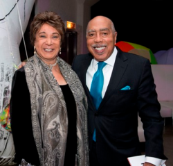 The always fabulous Shirley and Walter Massey!