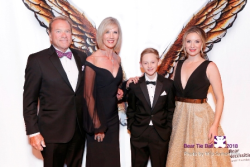 Longtime supporters Russ and Tracey Scurto with daughter/co-chair Tiffany Marshall and son