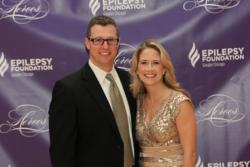 John Misasi and EFGC Board Member Sarah Carlson