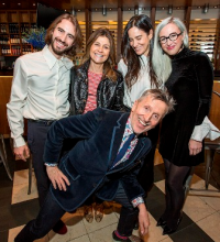 Nicolo Beretta, Lisa Perry, Ana Khouri, Sterling McDavid and Simon Doonan (front)