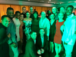 Giordano Dance Chicago celebrates at after-party following their triumphant Harris Theatre performance
