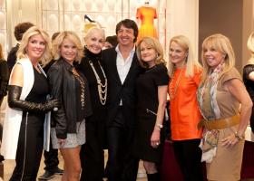 Mary Lasky, Tina Weller, Hazel Barr, Gianvito Rossi, Kim Gleeson, Libby Andrews and Marci Holzer