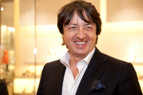 Handsome shoe designer Gianvito Rossi