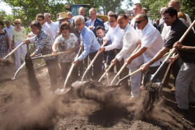 Breaking ground for The 606 that opens June 6