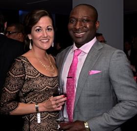 Molly Hamilton and Akin Owolabi
