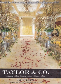 Derrick Taylor (Taylor & Co.) wedding creation