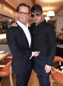 David Brandt and David Granados at Fig & Olive