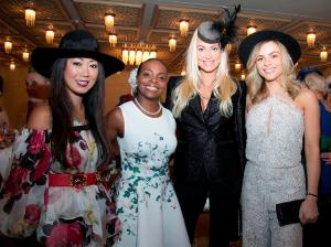 Janet Mandel, Rochelle Trotter, Isabelle Goibiewskie and Monika Dixon